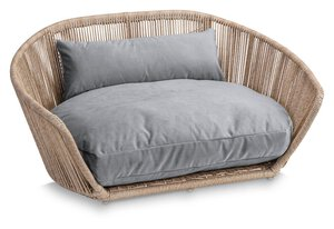 3567570-00000 Hundesofa Vogue Oxford Grey
