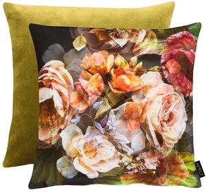 3545720-00000 Kissen gef. 45x45cm Rosen