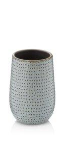 3552555-00000 Becher Dots graubraun