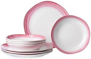 3244727-00000 Tafelservice Sunrise pink 8tlg