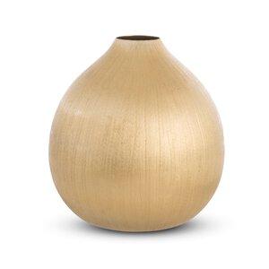 3380304-00000 Vase gold Aluminium vernickelt