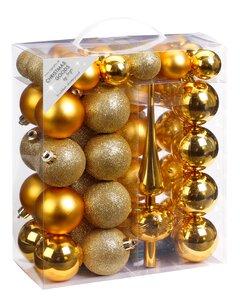 3376904-00000 Kugelbox, Gold-Mix , 47 St.