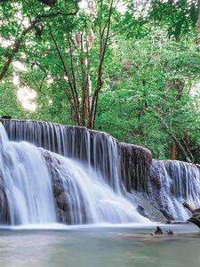 3308041-00000 Landschaft Wasserfalljungle wa