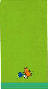 """3136604-00000 Handtuch """"Die Maus"""" grün"""