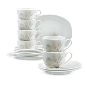 3216556-00000 Kaffeeservice Magnolie rosé 18