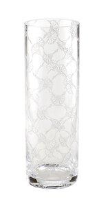 3566614-00000 Vase rund Kristallglas 30x10 c