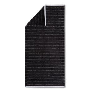 3548292-00000 Duschtuch Hardy Streifen black