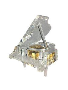 """3051581-00000 Glasspieluhr """"Flügel"""""""