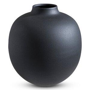 3247645-00000 Vase Eisen schwarz