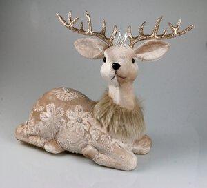 3257901-00000 Hirsch beige Krone
