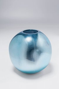 3270889-00000 Vase High Society Hellblau
