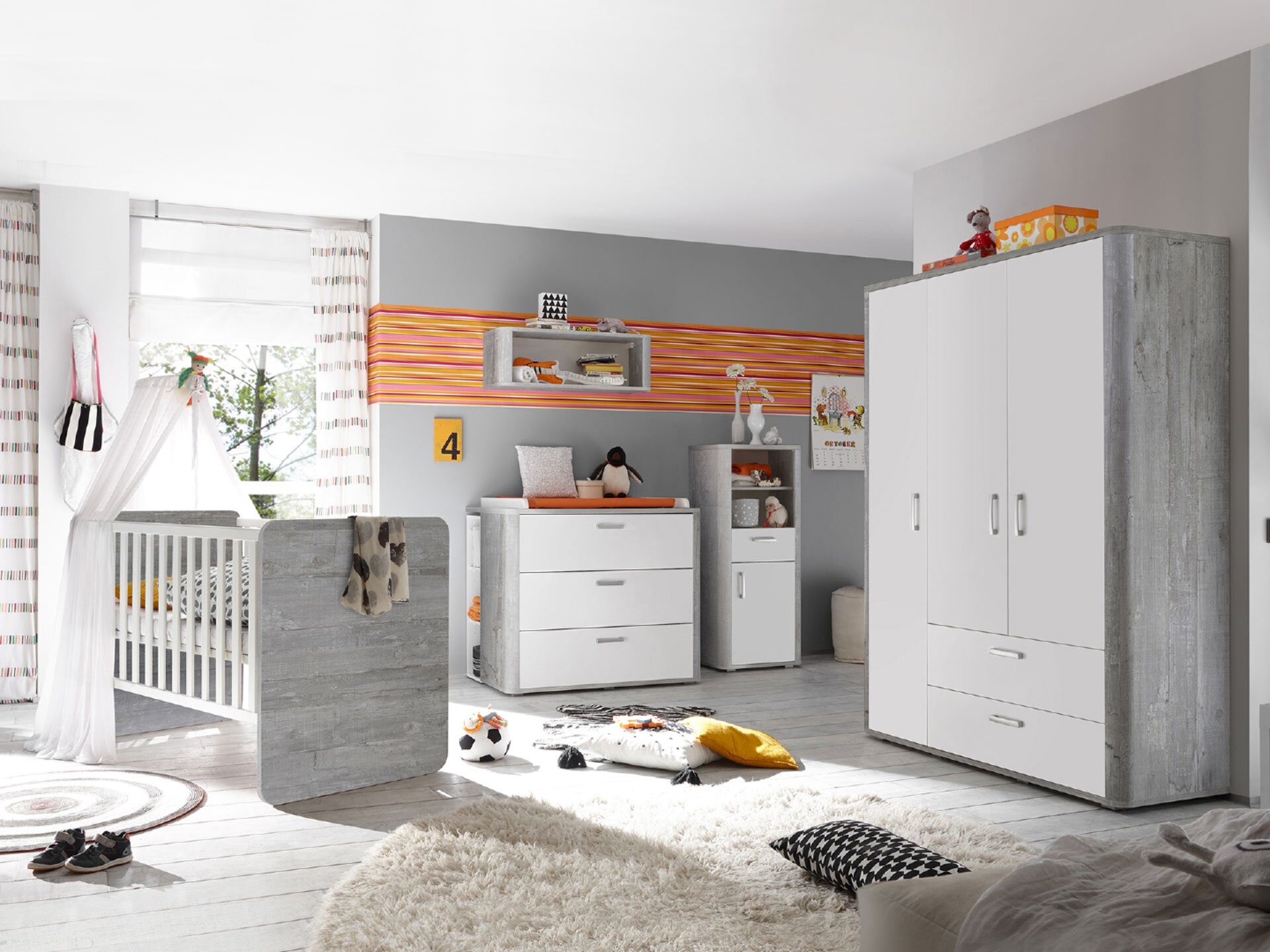 Babyzimmer Serie Frieda