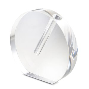 3241593-00000 Vase Kristallglas klar rund