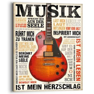 2882301-00000 Musik ist Leidenschaft 40x50 c