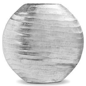 "3464051-00000 Vase ""Diskus"" silber"