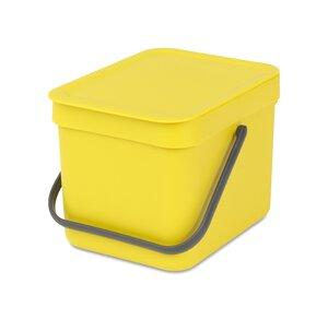 3143309-00000 Abfallbehälter Sort&Go 6 l Yel