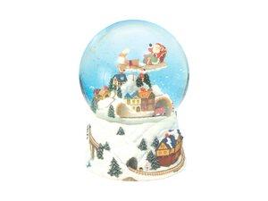 2418963-00000 Schneekugel Weihnachtszug