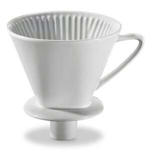 2990574-00000 Kaffeefilter Gr.4 weiß m.Stutz