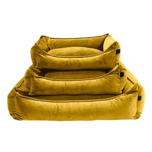 200 Van Baal Hundebett Velours Ochre M028755-00000