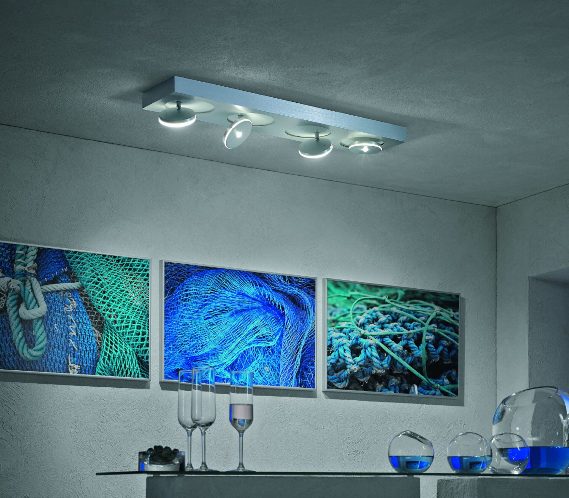 LED-Strahler, Alu