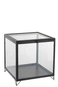 3485309-00000 Glaskasten schwarz