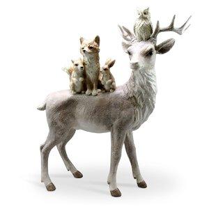 3367092-00000 Hirsch m.Tieren frosty