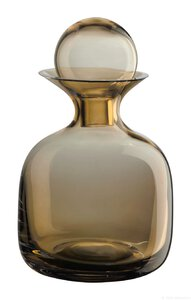 3466736-00000 Karaffe Glas small amber 0,75