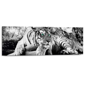 3023495-00000 Tiger is watching you 30x90 cm