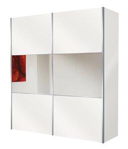 40 30 Bianco Weiß/Bauchbinde Spiegel