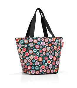 "3260272-00000 Shopper M ""happy flowers"""