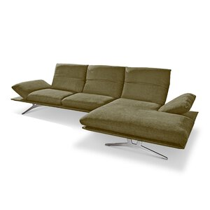 Koinor - Francis Ecksofa nickel satiniert M013859-00000
