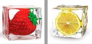 3308133-00000 Küche Früchteicecube fruits Se