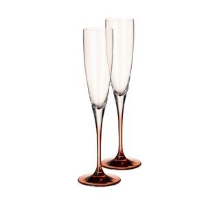 3330435-00000 Champagnerkelch 2 St.Manuf.Gla