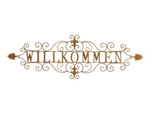 3324986-00000 Wanddekor Willk. Met rusty