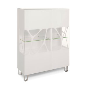 40 10 Cube Highboard weiß Genetics 2GT 110x143 M010942-00000
