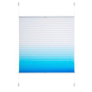 83 Liedeco Klemmfix- Plissee Farbverlauf azurblau M023307-00000