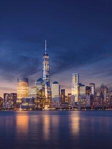 3308455-00000 Städte New YorkNew York by nig