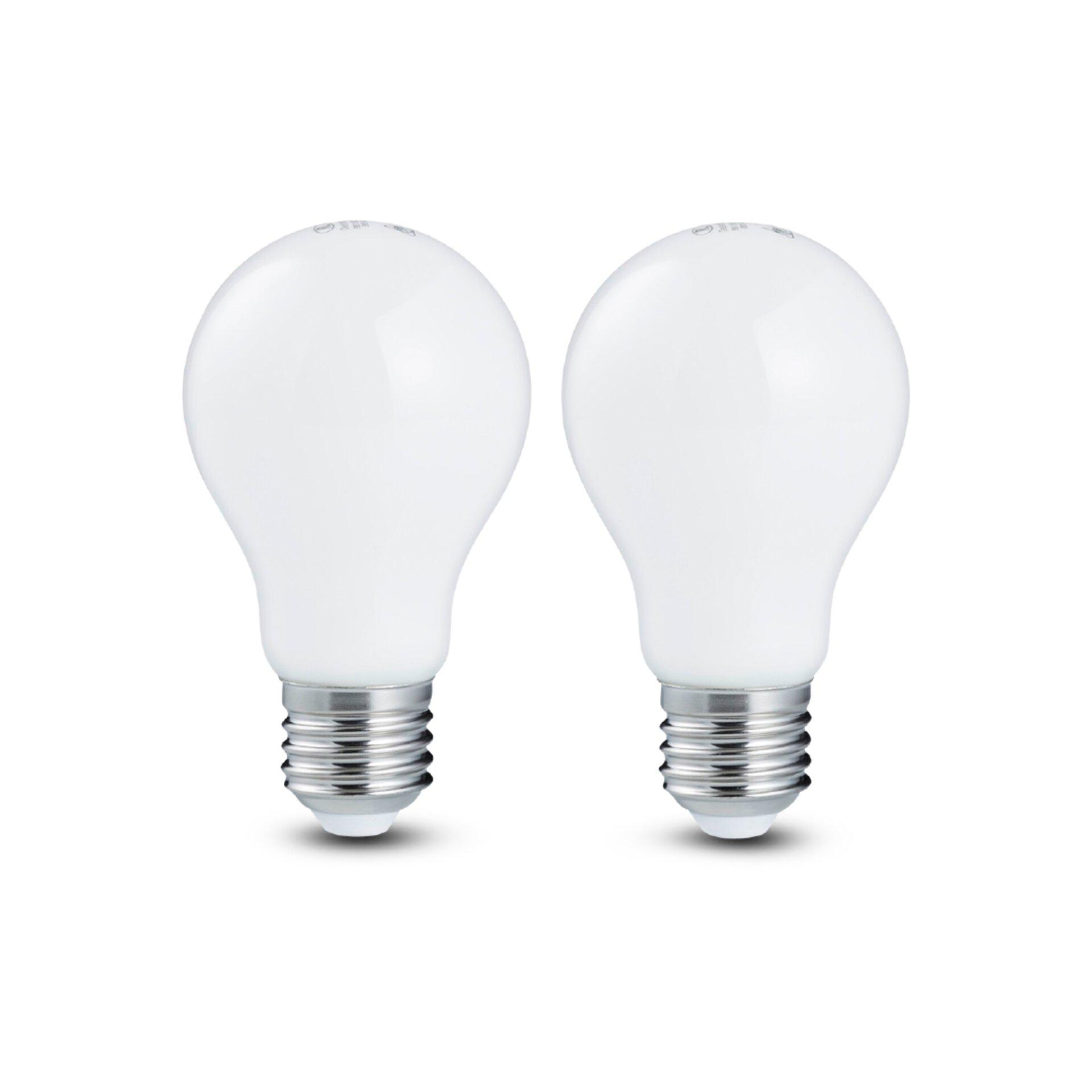 LED Birne matt, E27, A+