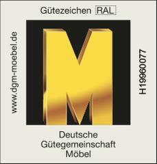 Goldene M Zertifikat