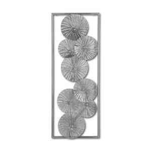 3196218-00000 Wanddekoration Blüten Metall