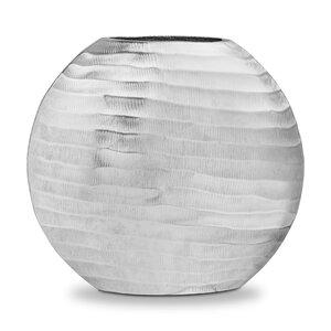 "3464052-00000 Vase ""Diskus"" silber"