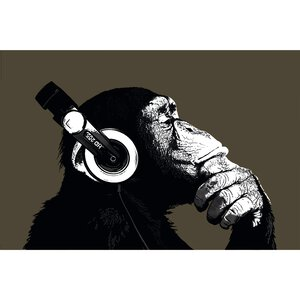 2730678-00000 The Chimp-Stereo 90x60 cm