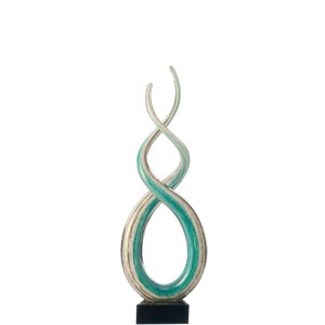2516737-00000 Skulptur Rotate 38 cm weiß/tür