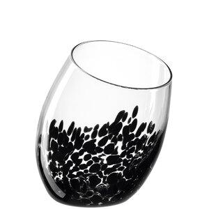 3462833-00000 Vase/Windl.Punto 29 cm schwarz