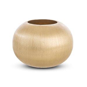 3380307-00000 Vase gold Aluminium vernickelt