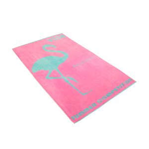 3452628-00000 Strandtuch Miss Flamingo