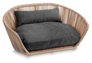 3567556-00000 Hundesofa Vogue Tudor Anthra