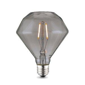 3325778-00000 E27/2W LED Filament rauch