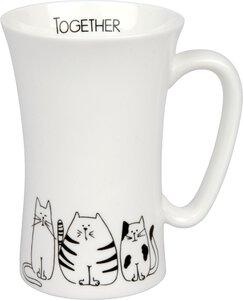 3184656-00000 Mega Mug Funny Cats 630 ml