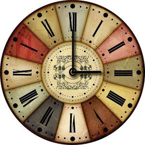 3308363-00000 Klassik Uhr UnifarbeColoured C
